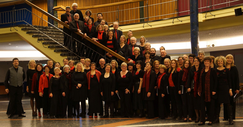 Der Solitude-Chor in der Liederhalle Stuttgart, Februar 2015
